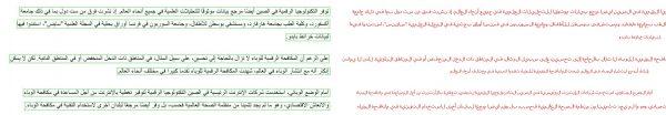 Arabic Text Dataset