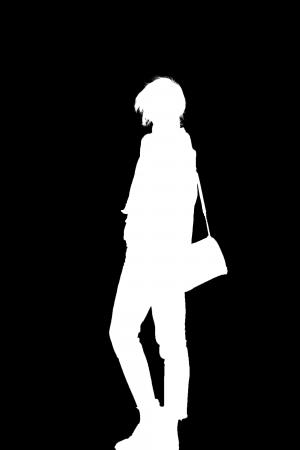 Single-person Portrait Matting Dataset